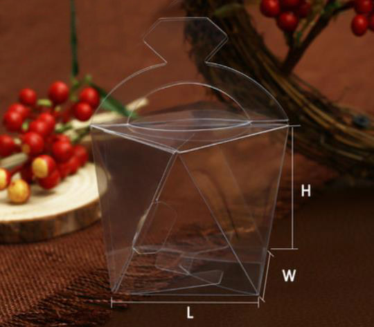 Diamond Odd Shape PVC Box (6*6*6cm)