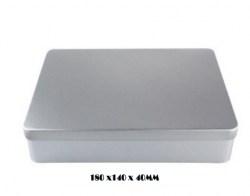 180*140*40mm Regular Rectangular Tin Cans