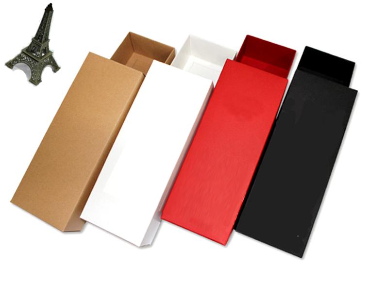 25*6*9.5cm Standard Size Color Paperboard Box (4 colors, 2 sizes)