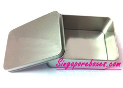 107*70*40mm Regular Rectangular  Tin Cans Image 1