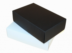 28*18*8cm Extra Big Rectangular Paper Box (3 Colors) Image 0