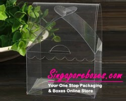 cabin-shape-transparent-pvc-boxes-with-bow-tie-fastener